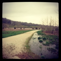 My run view 3/17/13 (MKT Trail - Tornado Sirens going off!) @ Sally Morrow Photography