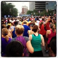 My run view 6/1/13 (Hospital Hill 1/2 marathon, Kansas City, Mo.) @ Sally Morrow Photography
