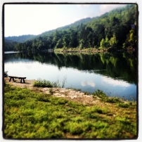 My run view at Big Cedar Lodge 2 - 8/18/13