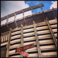 My run view 9/27/13 - Texas Memorial Stadium - Austin, Texas © Sally Morrow Photography