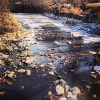 My run view 1/12/14 - Fairway, Kan.