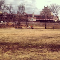 My run view 1/18/14 - Mill Creek Park, Kansas City, Mo.