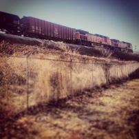 My run view 1/19/14 - West Bottoms, Kansas City, Kan.